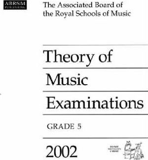 Theory of Music Examinations 2002: Grade 5