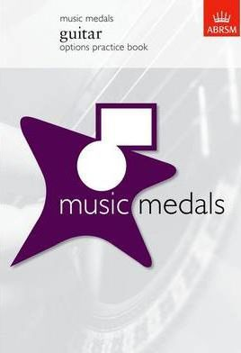 Music Medals Guitar Options Practice Book