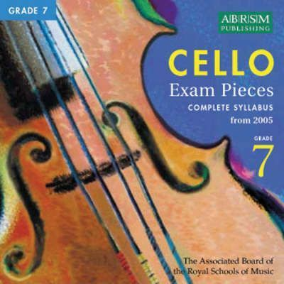 Cello Exam Pieces from 2005 Grade 7