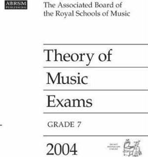 Theory of Music Exams 2004 2004: Grade 7