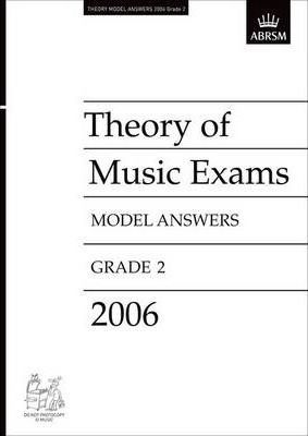 Theory of Music Exams Model Answers 2006: Grade 2