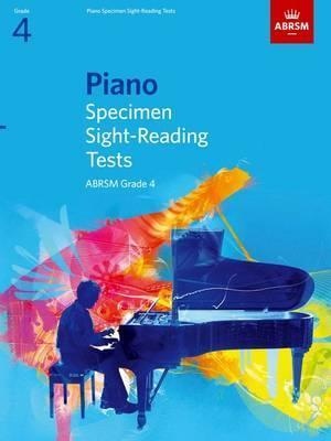 Piano Specimen Sight-Reading Tests, Grade 4