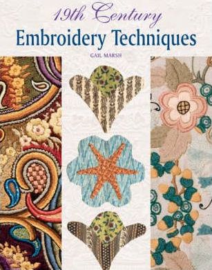 19th Century Embroidery Techniques Cover Image