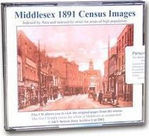 Middlesex 1891 Census Images