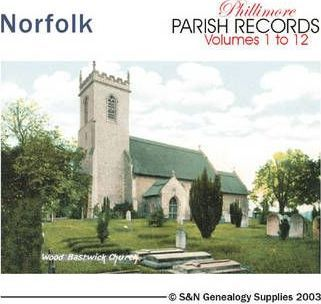 Norfolk Parish Records: For All the Phillimore Norfolk Parish Volumes v. 1-12