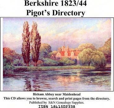 Pigot's Directory: Berkshire 1823 and 1844