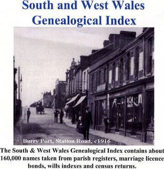 South and West Wales Genealogical Index
