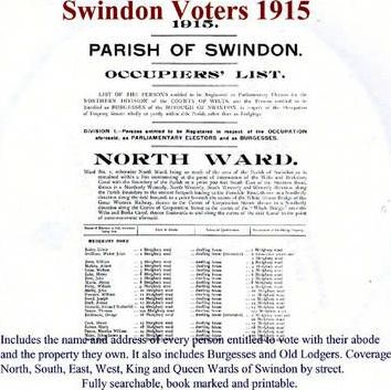 Swindon Voters 1915
