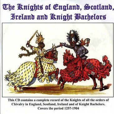 Knights of England 1284-1906