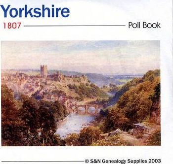 Yorkshire 1807 Poll Book
