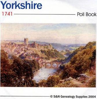 Yorkshire 1741 Poll Book