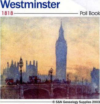 Westminster 1818 Poll Book