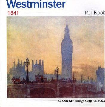 Westminster 1841 Poll Book