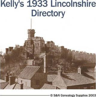 Kelly's 1933 Lincolnshire Directory