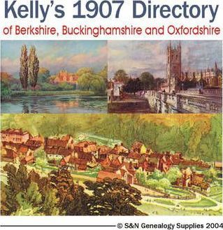 Kelly's 1907 Directory of Berkshire,Buckinghamshire and Oxfordshire