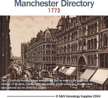 Manchester 1773 Directory