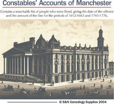 Constables' Accounts of the Manor of Manchester
