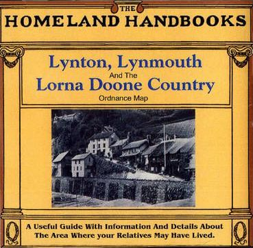 Lynton, Lynmouth and the Lorna Doone Country: Ordnance Map