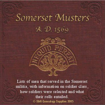 Somerset Musters A.D. 1569