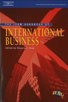 The IEBM Handbook of International Business