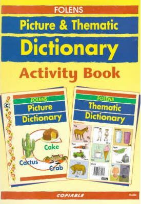 Folens Picture/Thematic Dictionary: Activity Book