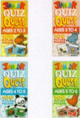 Junior Quiz Quest: Ages 5 to 6