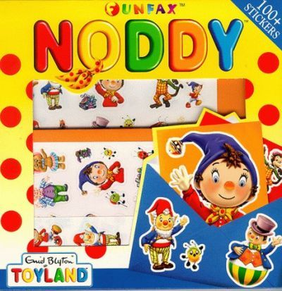 Noddy Sticker Stationery Box