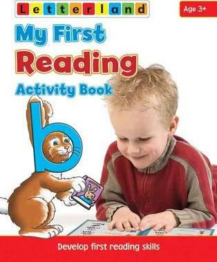 My First Reading Activity Book Cover Image