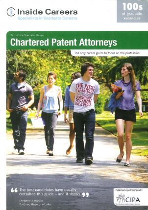 Inside Careers Guide to Chartered Patent Attorneys 2009/10