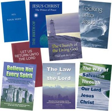 Set of Eight Medium Booklet Tracts: Authorised (King James) Version of the Bible
