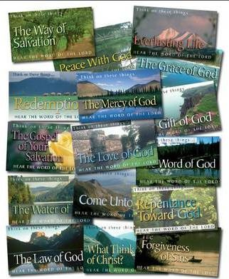 Set of 16 Scripture Leaflet Tracts (800 Tracts)