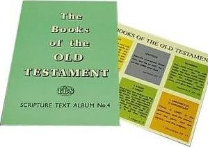 Old Testament Books and Texts