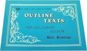 Bible Blessings Colouring Book