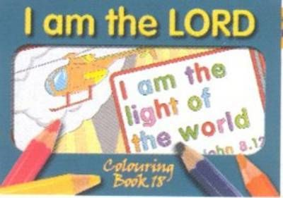 Colouring Book - I am the Lord