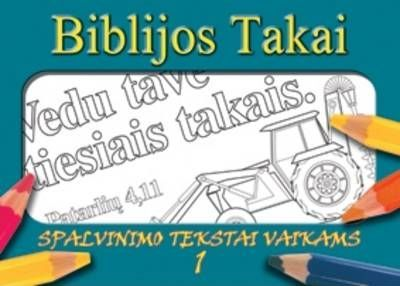 Lithuanian Colouring Book - Bible Paths