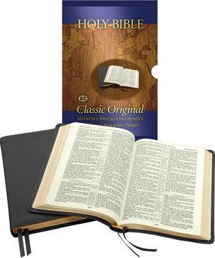 Concord Calfskin Reference Bible: Centre Reference Bible