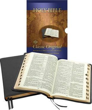 Concord Bible - With Thumb Index: Centre Reference Bible