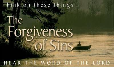 Pack of Tracts - The Forgiveness of Sins (50 Tracts)