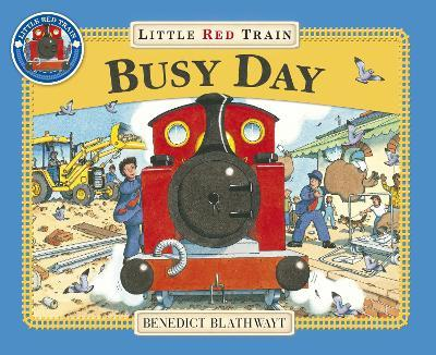 Little Red Train: Busy Day Cover Image