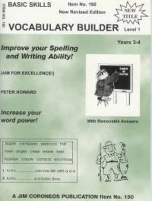 Vocabulary Builder - Level 1 - Years 3-4