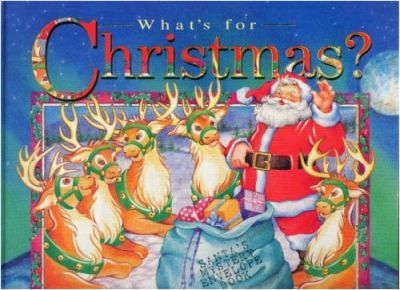 Whats for Christmas Envelope Book