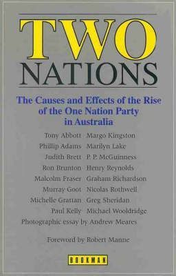 Two Nations: the Causes and Effects of the Rise of the One Nation Party in Australia