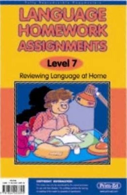 Language Homework Assignments: v. 5