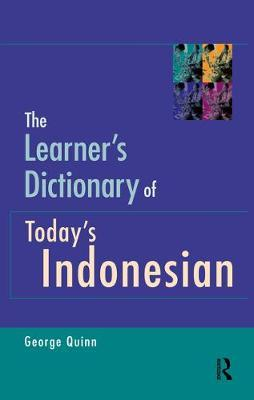 The Learner's Dictionary of Today's Indonesian Cover Image