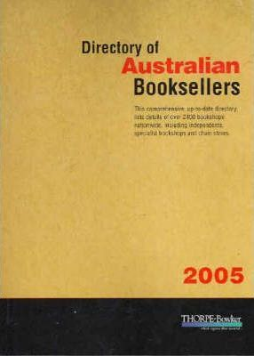 Directory of Australian Booksellers 2005