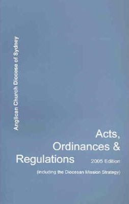 Acts, Ordinances and Regulations 2005