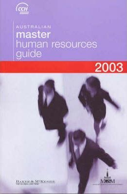 Australian Master Human Resources Guide 2003