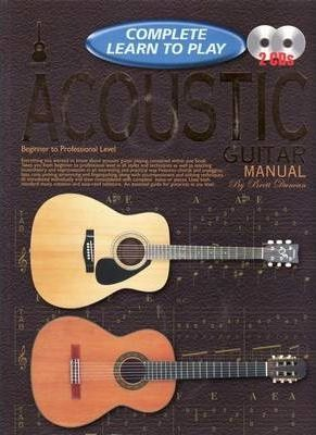progressive complete learn to play acoustic guitar manual brett rh bookdepository com Electric Guitar Cool Acoustic Guitars