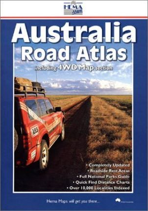 Australia Road Atlas Large B4 4WD