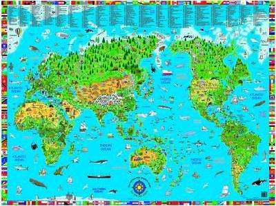 Kids' World Map